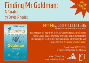 Finding Mr Goldman Launch copy