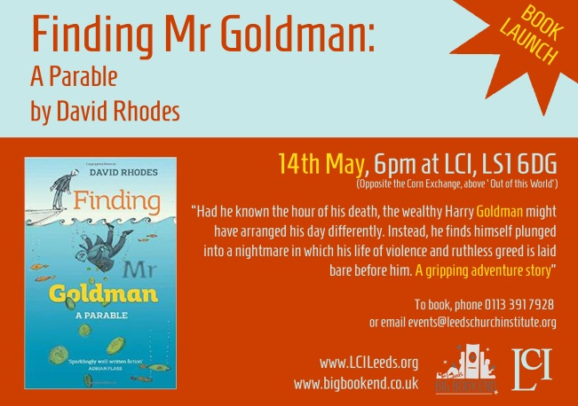 Finding Mr Goldman Launch copy