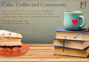 Cake, coffee and community small