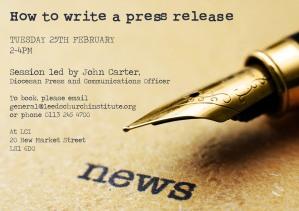 John Carter press release training copy