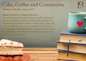 Cake, coffee and community_15thMay