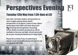 Perspectives evening flyer