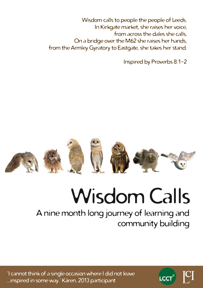 Wisdom Calls info 1