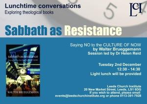 Sabbath as resistance copy