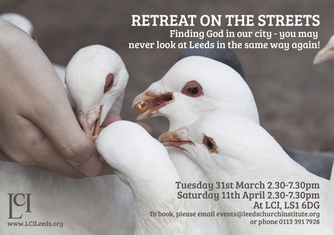 Retreat on the Streets Flyer copy