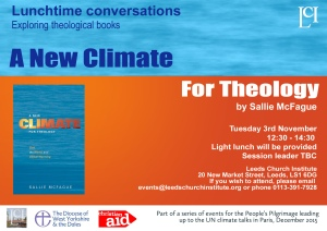 A new climate for theologly copy
