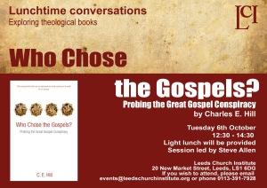 Who chose the gospels copy