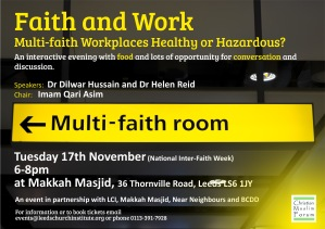 Faith and Work flier copy