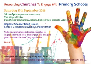 Resourcing Churches to Engage With Primary Schools front