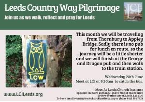 Leeds Country Way Pilgrimage